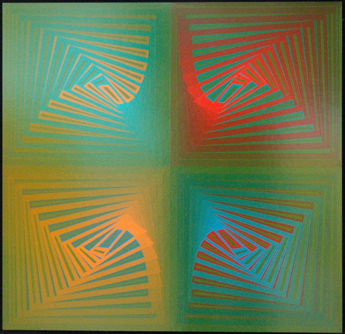 SCHAREIN - 14-i-80, sieb-gedruckt, Auflage 3/10, 1980