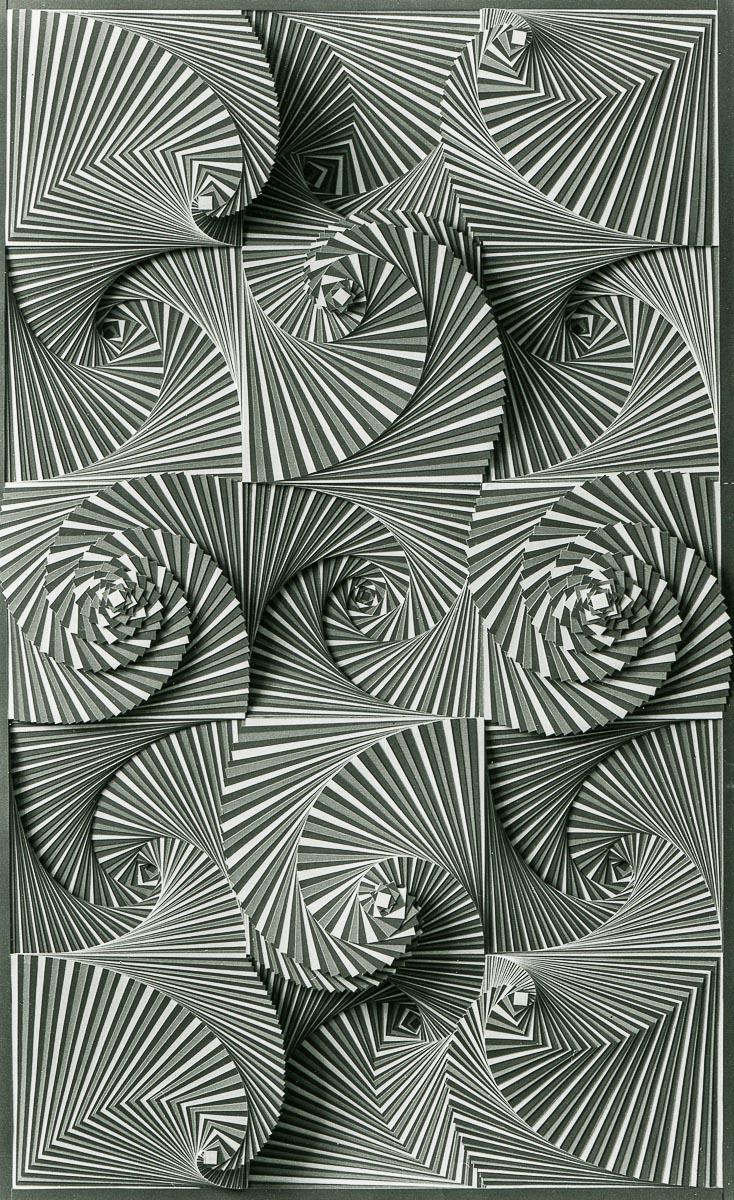 SCHAREIN - 3 x 5 Quadrate, 1972