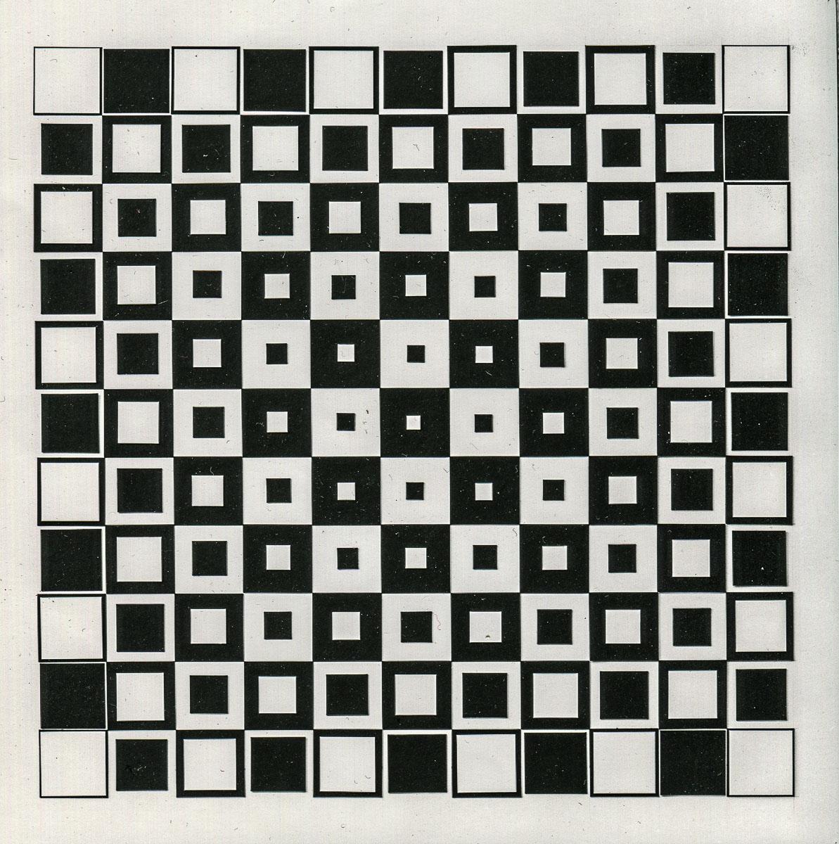 SCHAREIN - Variationen Quadrat im Quadrat, 1968