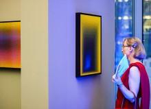 Punktgenau !?! Farbfeldmalerei von Scharein 2015 - www.scharein.de