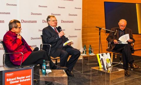 Edzard Reuter und Scharein im Gespräch mit Prof. Rott