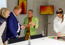 Vernissage with Scharein on 17.09.2021 Stuttgart