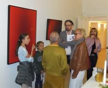 Besucher des offenen Atelier von Scharein - www.scharein.de