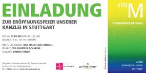 Kanzleieröffnung mit Scharein am 17.09.2021 Stuttgart